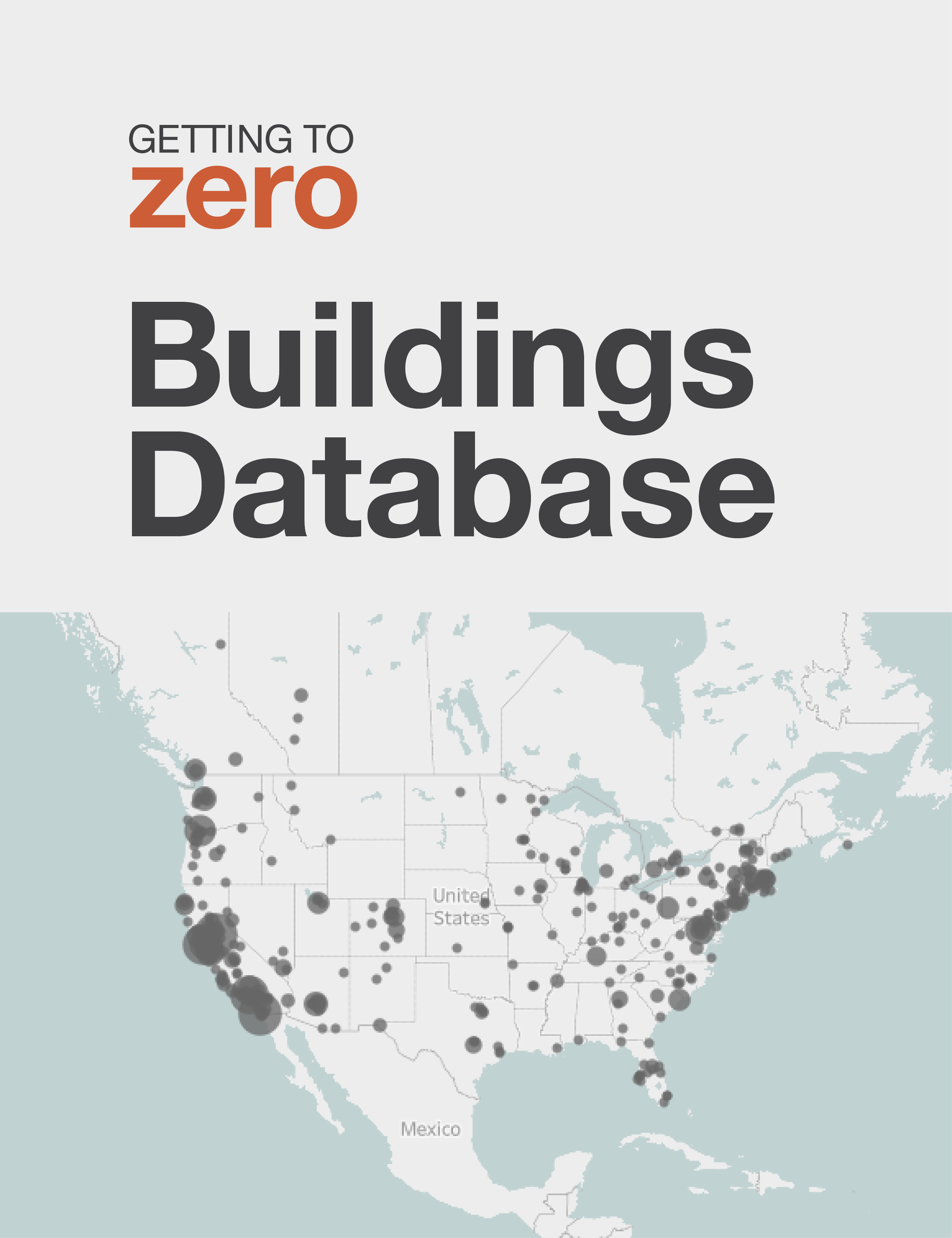 Getting to Zero Buildings Database